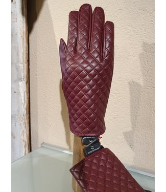 Kessler Burgundy leather glove