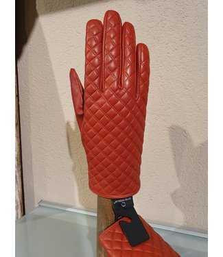 Kessler Red-brown leather glove