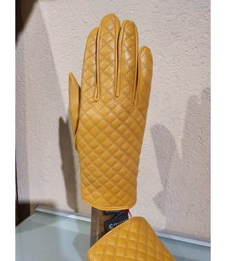 Kessler Yellow leather glove