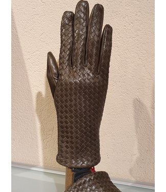 Kessler Olive green leather glove