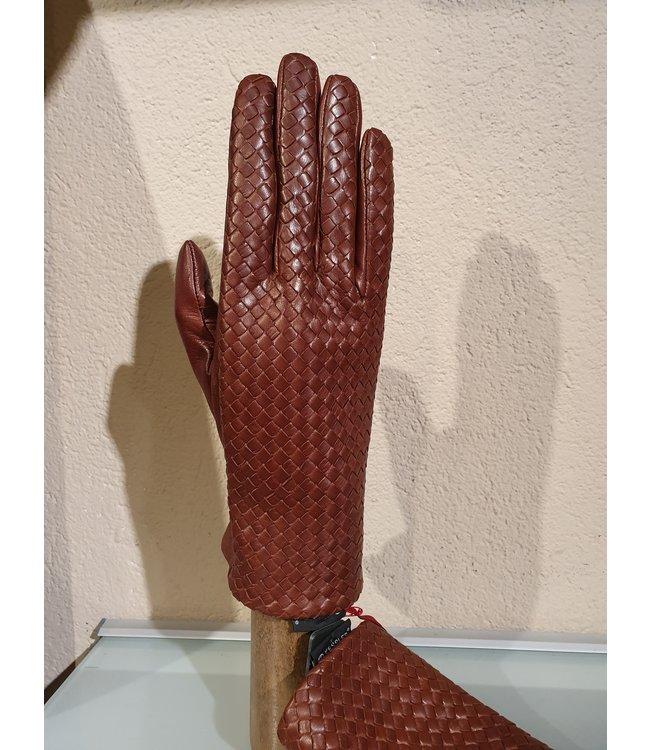 Kessler Brauner Lederhandschuh