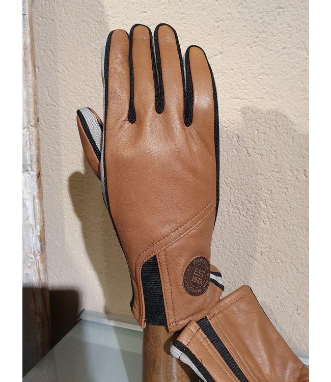 Kessler Lichtbruine leren handschoen