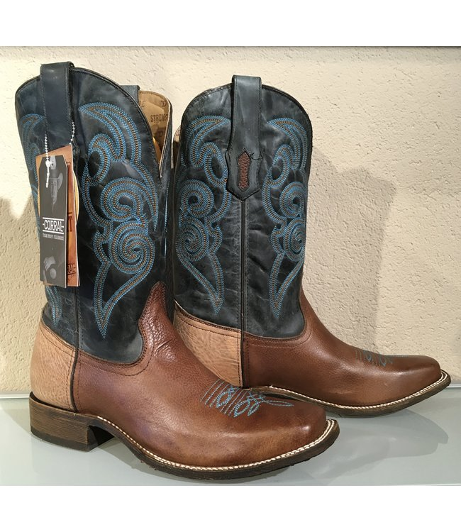 Corral  Brown western boot