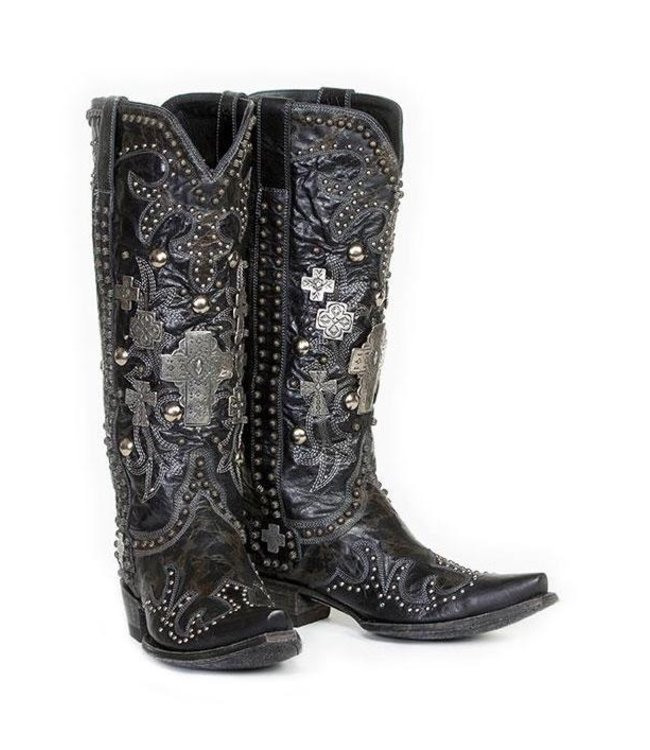 Old Gringo- Double D Ranch High western boots with studs