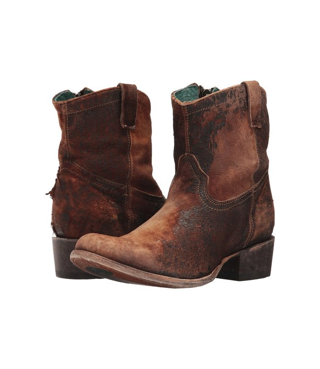 Corral  Brown lamb leather  ankle boot