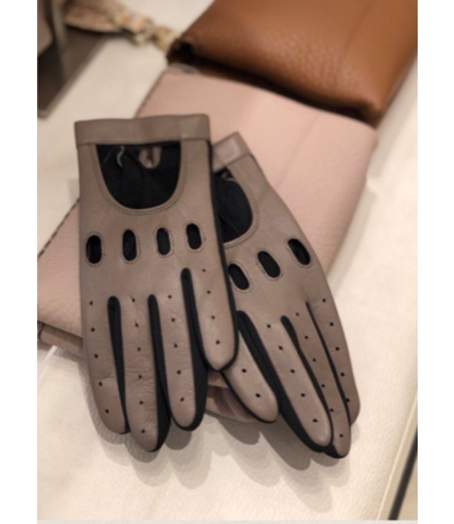 Kessler Taupe leather glove