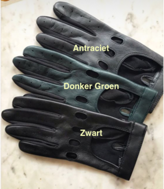 Kessler Anthracite leather glove