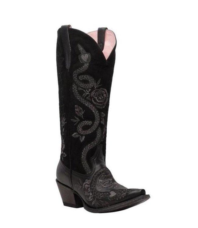 Junk Gypsy Tall black leather cowboy boot