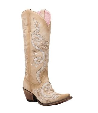 Junk Gypsy Tall light brown leather cowboy boot