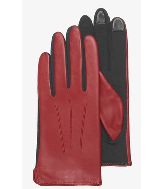 Kessler Red leather glove
