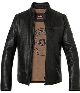 Milestone Dark brown leather jacket Nilo