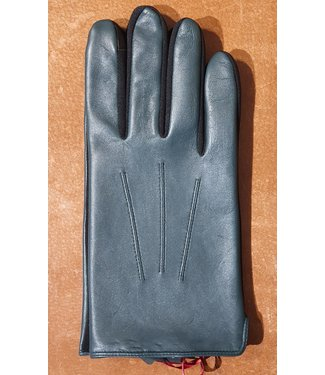 Kessler Dark green leather mens glove