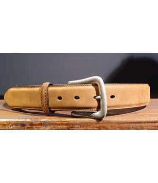 Nocona Belt Company Light brown leather belt