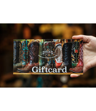Gift card € 50,-
