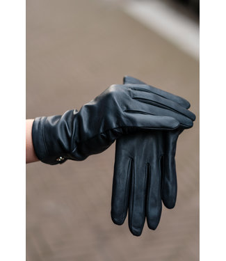Kessler Dark blue leather glove