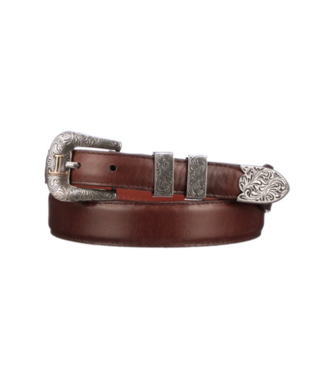 Lucchese Cognac leather belt