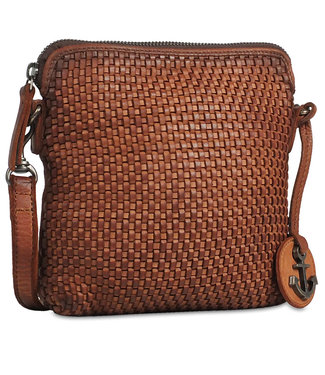 Harbour 2nd Brown leather bag Thelma