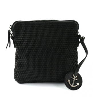 Harbour 2nd Black leather bag
