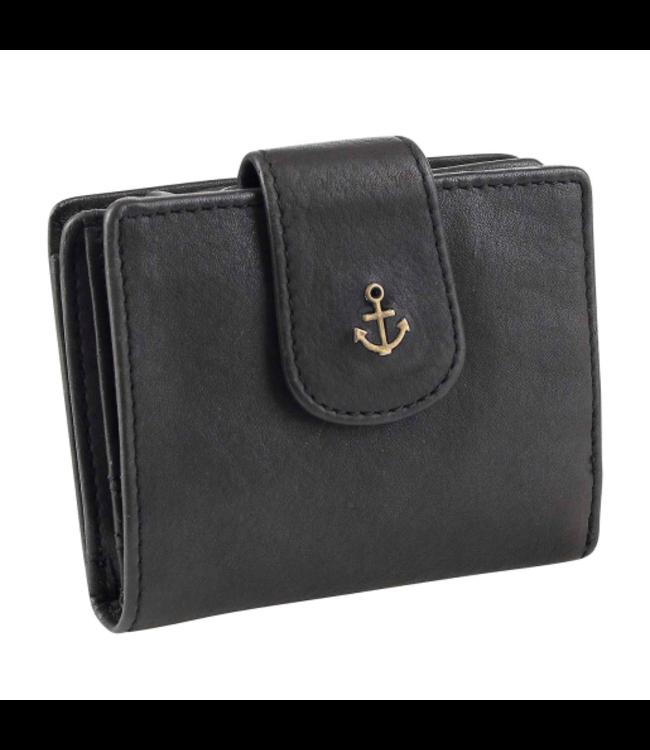 Harbour 2nd Black leather wallet