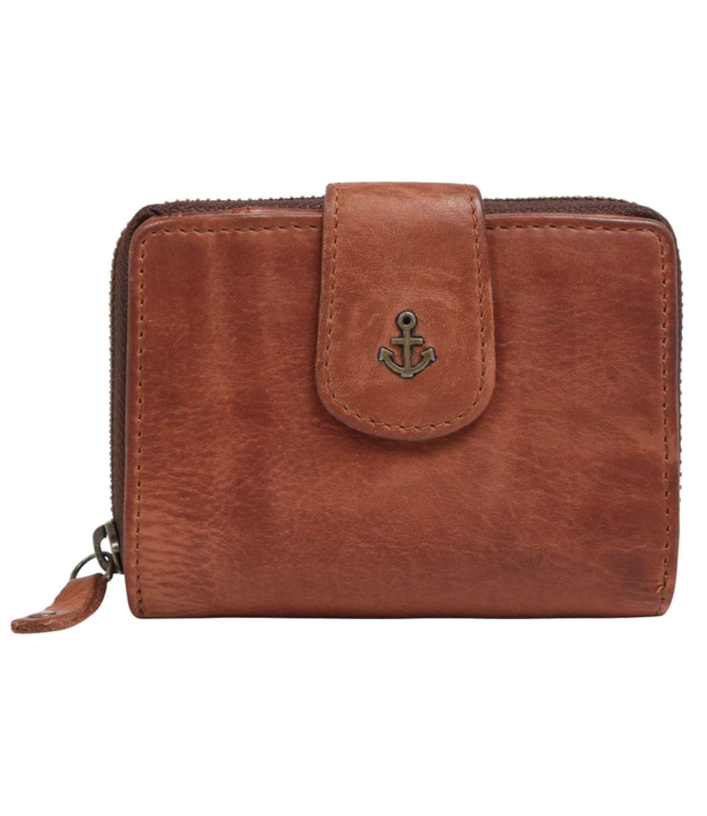Harbour 2nd Brown leather wallet