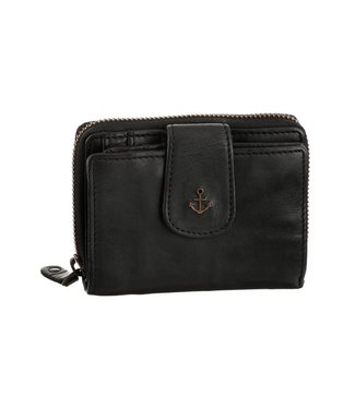 Harbour 2nd Black leather wallet
