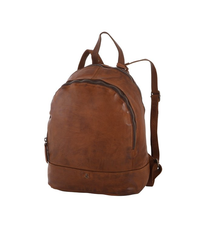 Harbour 2nd Brown leather backpack