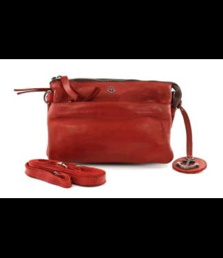 Harbour 2nd Orange leather bag