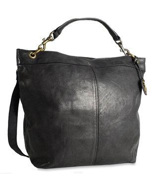 Harbour 2nd Black leather bag Vicky