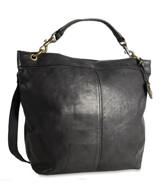 Harbour 2nd Black leather bag