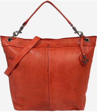 Harbour 2nd Orange leather bag