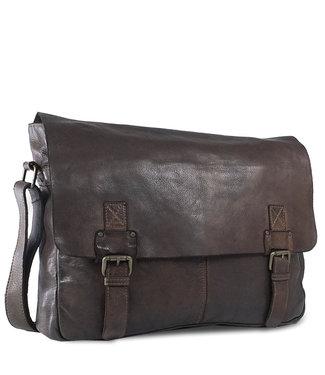 Harbour 2nd Dark brown leather bag Yamal