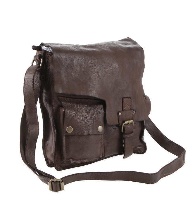 Harbour 2nd Dark brown leather bag   Juwil von Er