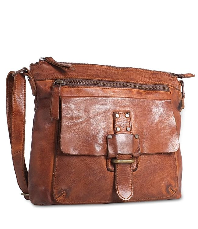 Harbour 2nd Brown leather bag Hazel