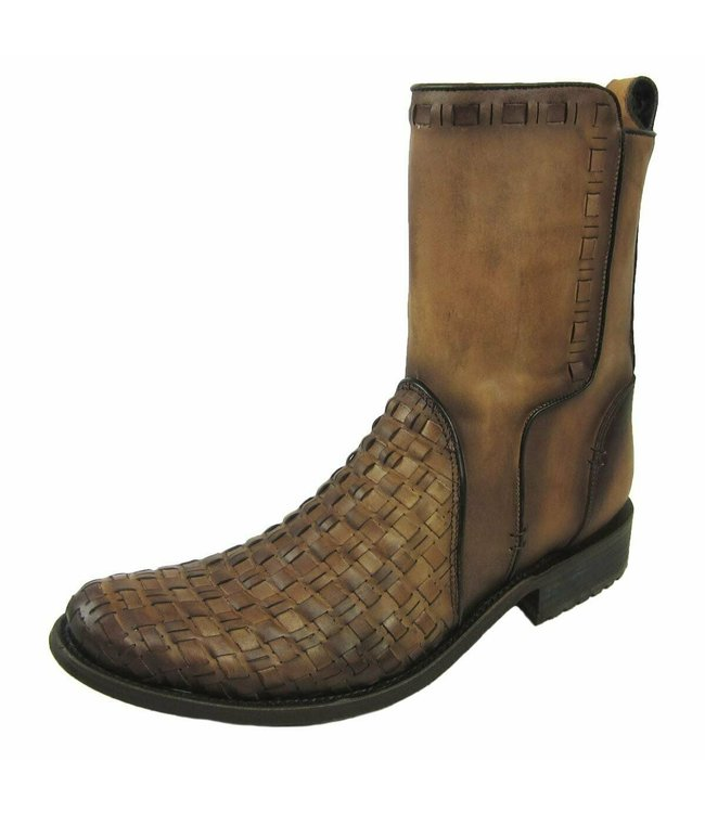 Cuadra Brown leather men's ankle boots