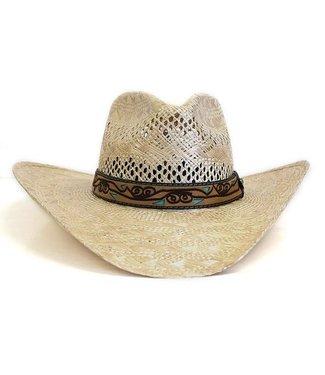 Twister Cowboyhut aus Stroh