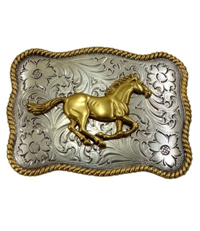 Nocona Belt Company Buckle with Horse