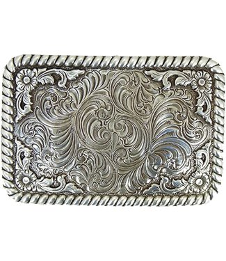 Nocona Belt Company Buckle with floral pattern