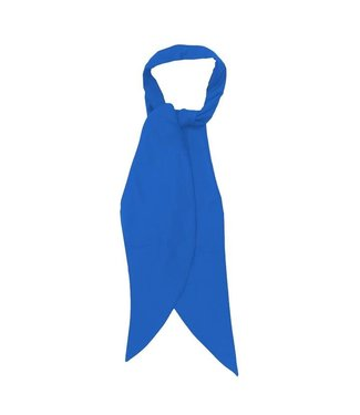 Blue apache scarf