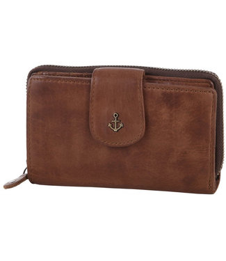 Harbour 2nd Brown leather wallet Linn