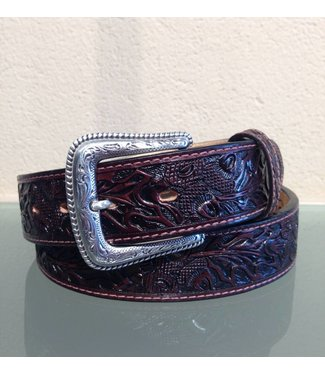 Nocona Belt Company Dark brown leather belt