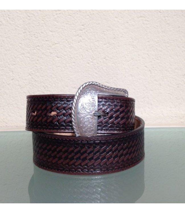 Nocona Belt Company Brown leather belt