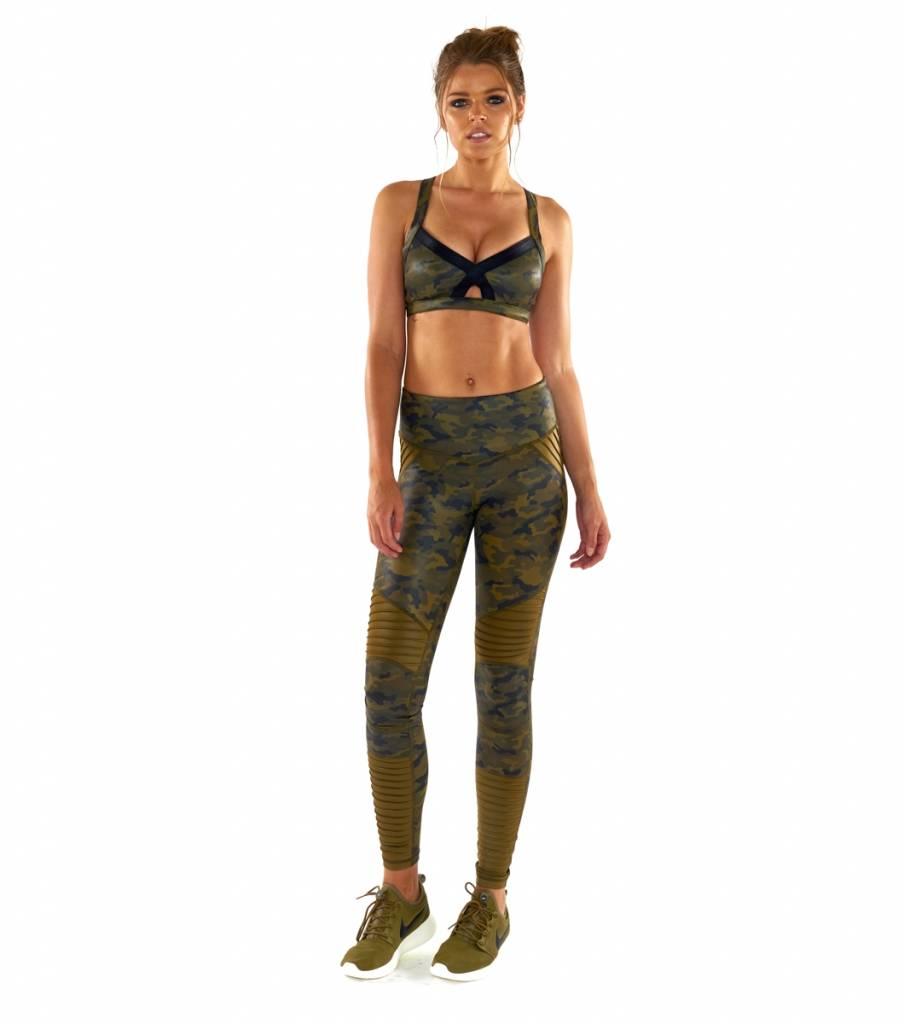 L'urv Lovers Army Moto Legging