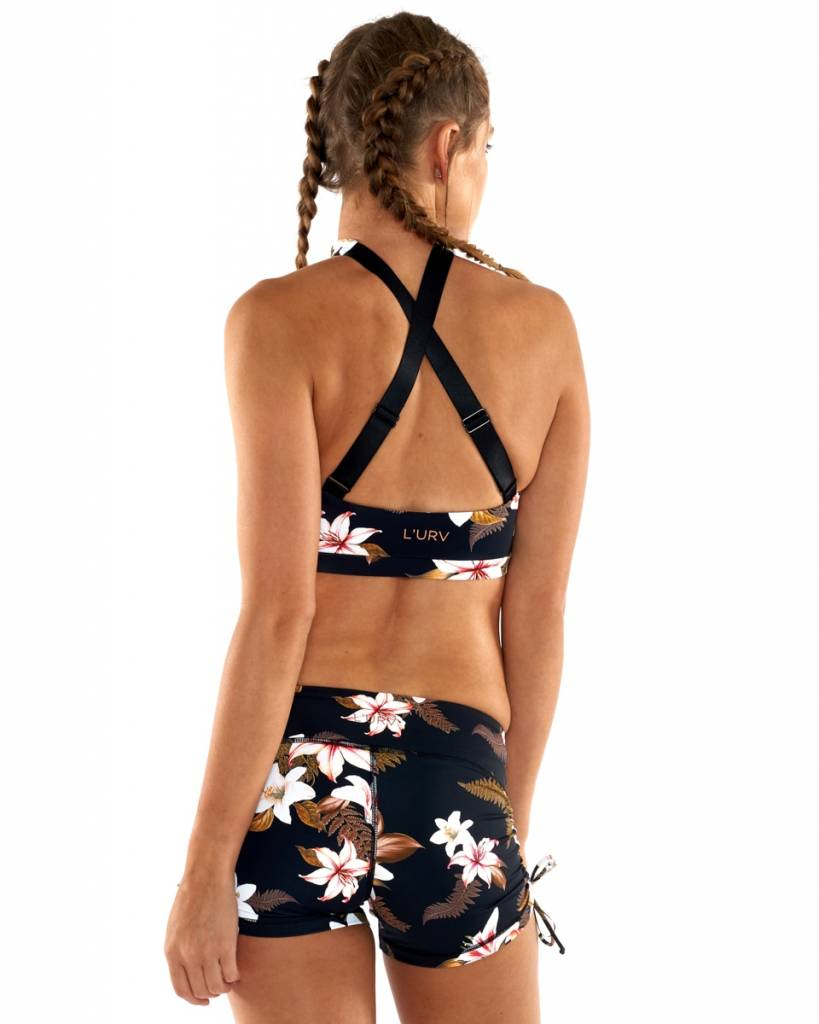 L'urv Island Crush Wrap Crop