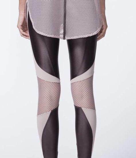 Koral Activewear  Emblem Mid Rise Cropped Legging