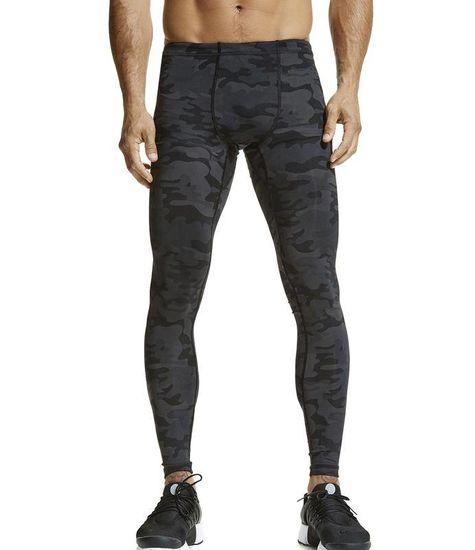 Vimmia Men's Printed Core Legging Dark Camo
