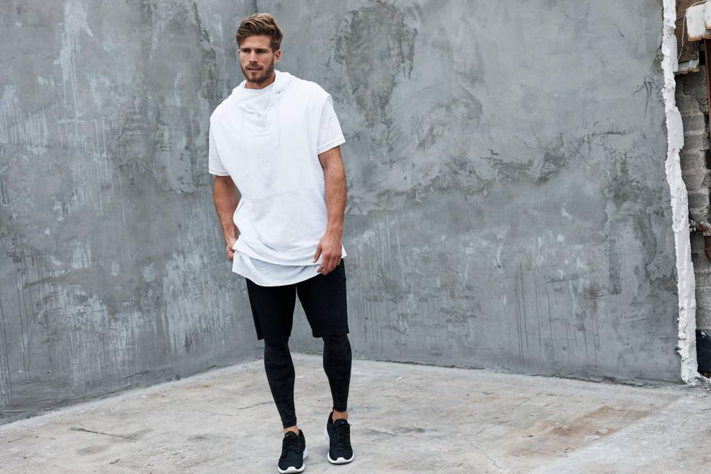 Vimmia Revolt Muscle Hoodie - White