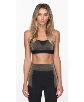 Koral Activewear Trifecta Block Gold Versatility BH
