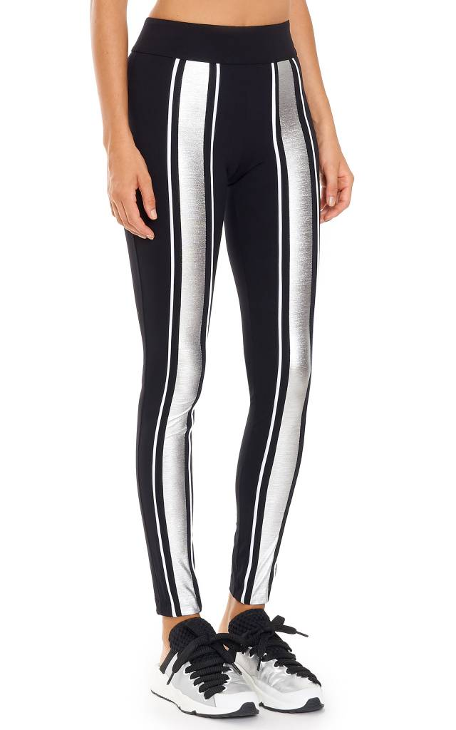 NO KA'OI Kahua Kalia Leggings  Gold