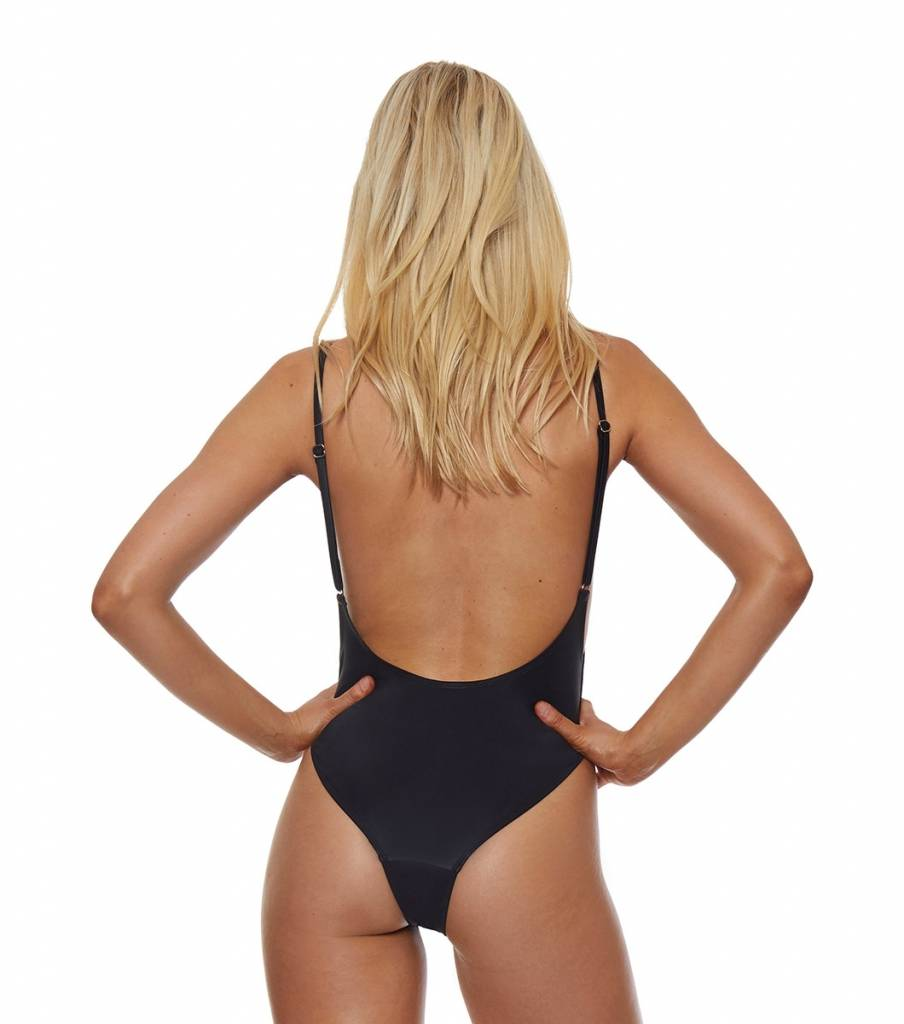 L'urv Shimmer Me One Piece  - Black