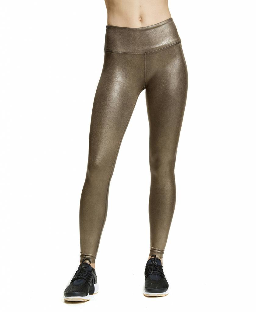 Vimmia Metallic High Waist Legging Bronze